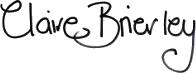Claire Brierley Signature