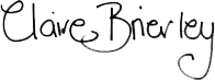 Claire Brierley Signature